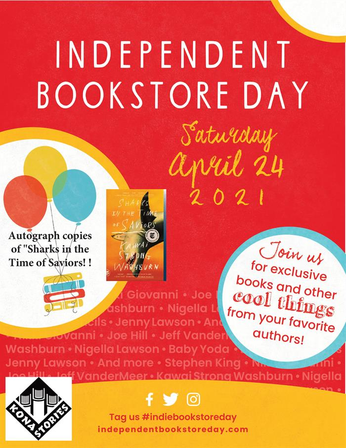Kona Story Independent Book Store Day-1